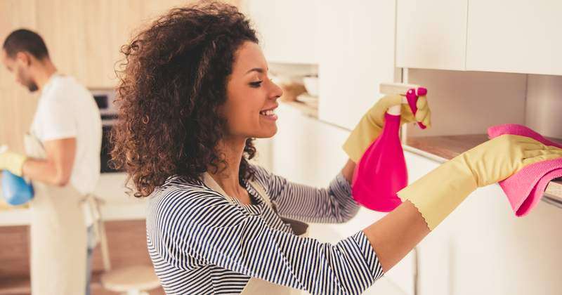 Clean & Disinfect Home